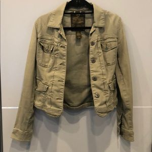 Lucky brand utility green jacket